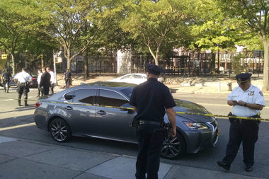 The boy was riding near Dahill and Courtelyou when he was hit just before 7 a.m. Wednesday, police said.
