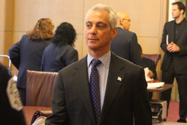 Mayor Rahm Emanuel sought the increase in the water and sewer tax to fund pensions for city workers who aren't police officers or firefighters.