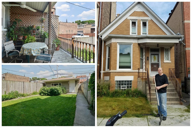 A home for sale at 2220 W. Augusta Blvd. in Ukrainian Village.