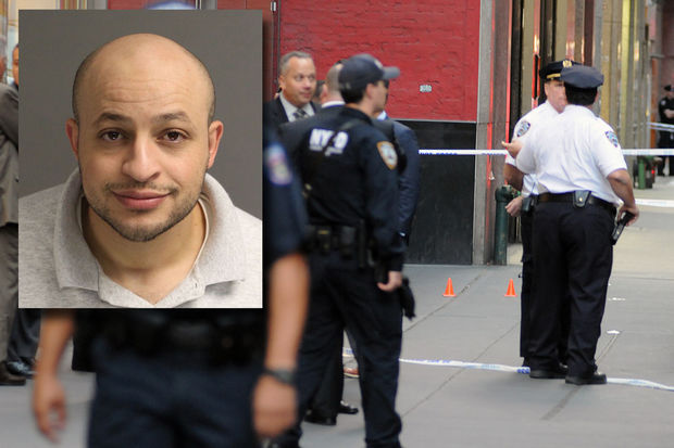 Akram Joudeh sliced an off-duty detective's face with a meat cleaver, police said.
