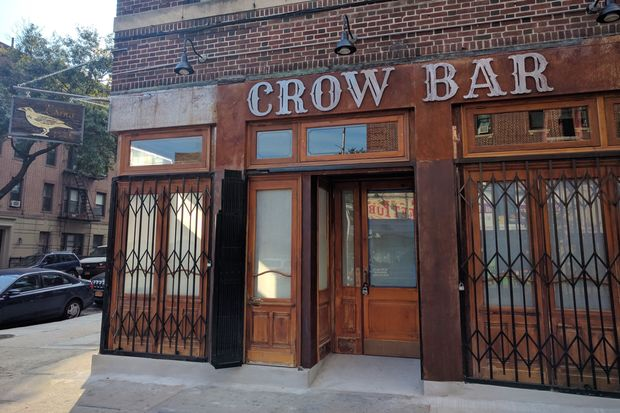 Crow Bar will open on Monday, Sept. 19 at 820 Franklin Ave. in Crown Heights.