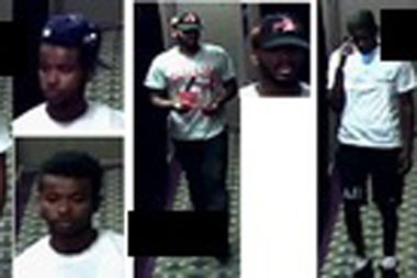 Police are looking for three men they say stole a man's Rolex after he invited them back to his Williamsburg apartment on Bedford Avenue and North 12th Street on August 14, 2016.