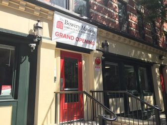 The Community Hope Resource Center in East Harlem is the first of its kind for the Bowery Mission and the organization hopes to expand.