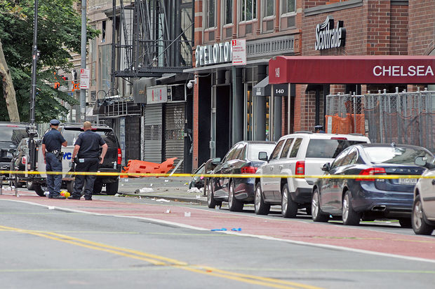 Near the scene of a bombing in Chelsea that injured 29 people. Sources say a since-deleted Tumblr post takes credit for the bombing, highlighting the difficulty in separating fact from fiction on the web during times of crisis.