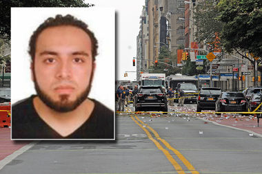 Ahmad Khan Rahami, of New Jersey, was charged with using a weapon of mass destruction, court documents show.