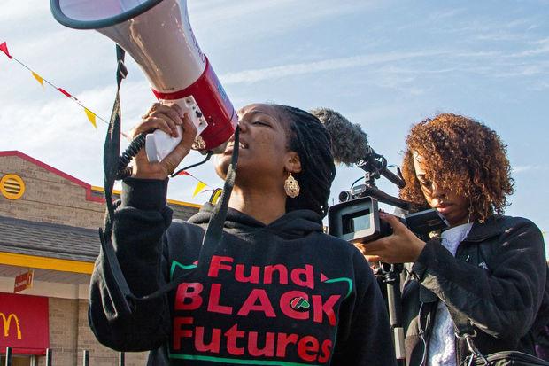 Chicago filmmaker Ashley Mills followed local activist Janae Bonsu for her documentary,