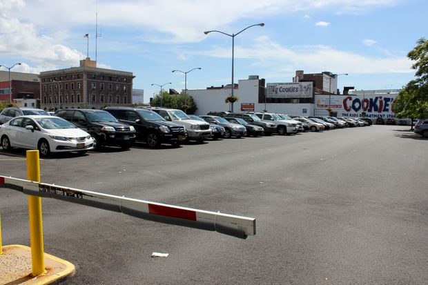 A massive development is planned for a parking lot at 168th Street and 90th Avenue in downtown Jamaica.