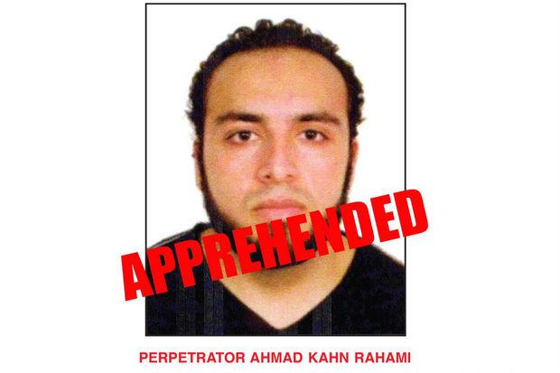 Ahmad Khan Rahami was taken into custody Monday morning, according to officials.