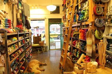 Downtown Yarns in the East Village.