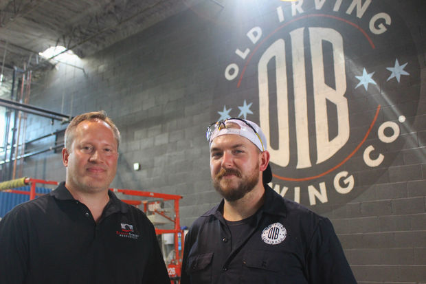 Old Irving Brewing Opening Preview