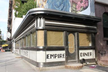 The iconic Empire Diner in Chelsea.