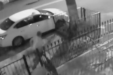 Police are searching for a group of men who they say assaulted and shot 20-year-old Samdrevious Head near 452 Gates Ave. in Bedford-Stuyvesant on Sept. 19.