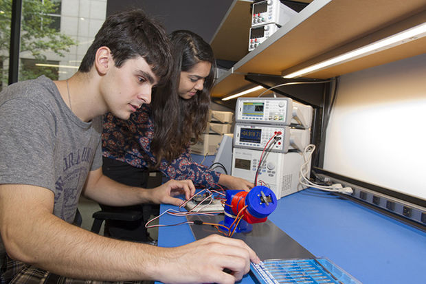 A new MakerSpace opened Tuesday at the NYU Tandon School of Engineering in Downtown Brooklyn.