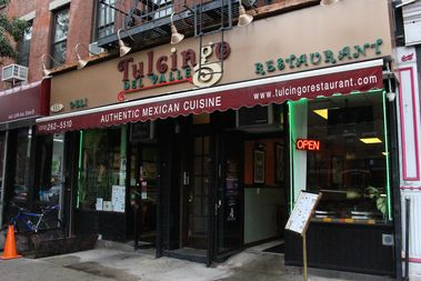 Tulcingo Del Valle at 665 10th Ave., between West 46th and West 47th streets.