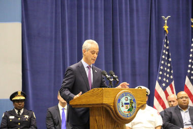 Mayor Rahm Emanuel called on a need for Chicago to address its violence and come together to prevent it.