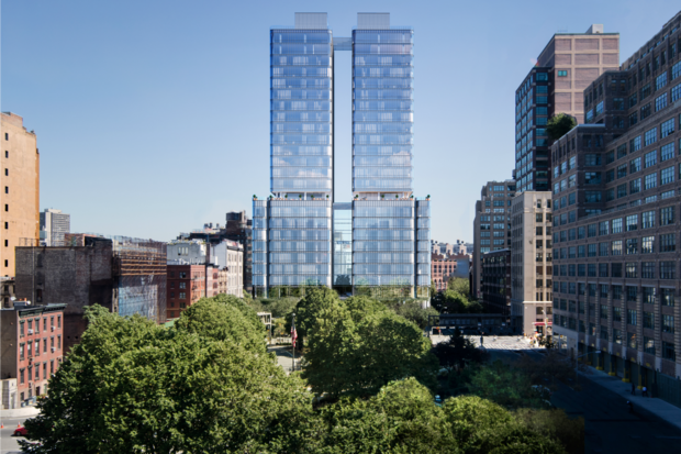 Units at 565 Broome St. start at just under $1 million for a studio.