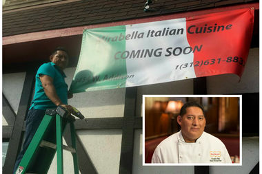 Chef Arturo Aucaquizhpi, a Gene & Georgetti veteran, is ready to unveil his new baby.