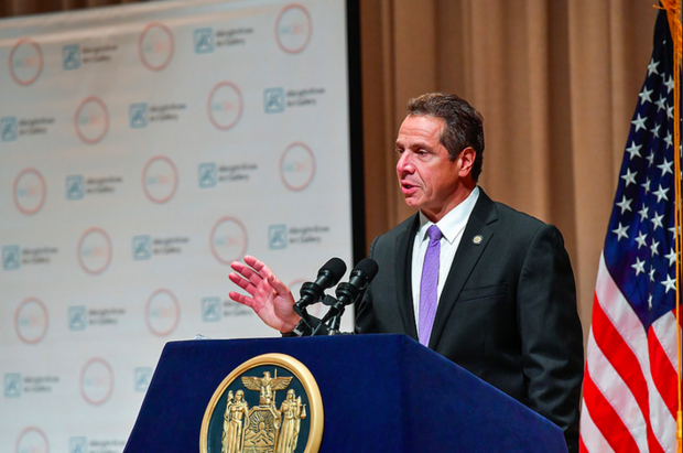 Speaking at an event in Buffalo a day after two former aides were charged with federal corruption and bribery charges, Gov. Andrew Cuomo said he was unaware of the scheme and also disappointed.
