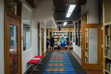 GCE Lab School, 1535 N. Dayton St., underwent a major expansion.