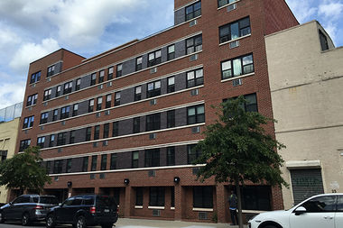 Unity Preparatory Charter School is looking to build a new seven-story high school at 32 Lexington Ave., behind an IMPACCT Brooklyn building at 15 Quincy St. (pictured above).