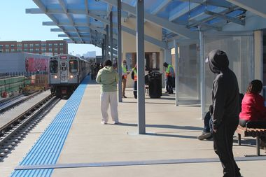 Northbound Red Line trains will bypass Wilson Station overnight.