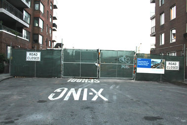 The Parks Department is planning three ramps at East 81st (seen here), 82nd and 83rd streets for better accessibility to the East River Esplanade.