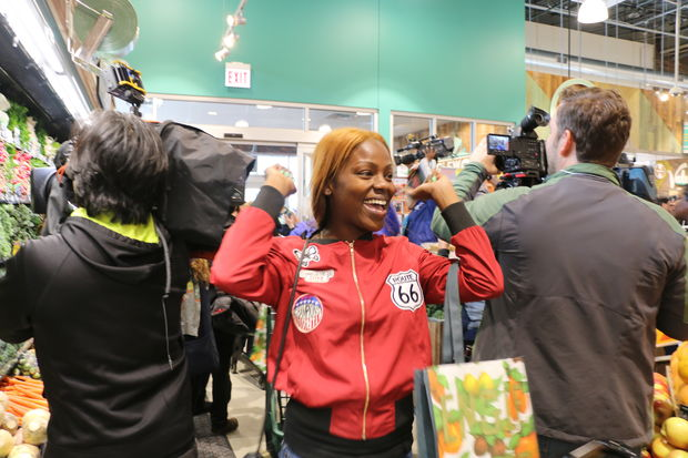 Whole Foods opens a new location in Englewood Wednesday, Sept. 28, 2016. The community was invited to celebrate the grand opening.