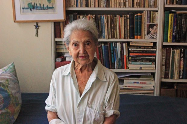 Gina Zuckerman moved to New York 60 years ago after six years in German labor camps in World War II.