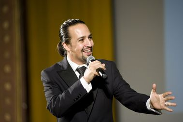The award-winning actor and playwright, Lin-Manuel Miranda, will launch the