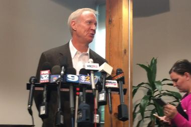 Reducing gun violence in Chicago cannot just come from tougher gun and sentencing laws, but will need to include efforts to reduce instances of repeated gun offenders and prison recidivism rates, Gov. Bruce Rauner said Thursday.