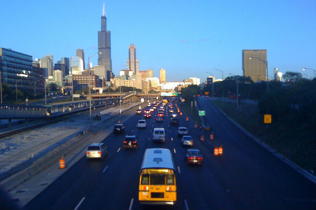 Ongoing work on the Jane Byrd Interchange will shut down lanes on the Eisenhower Expressway overnight.