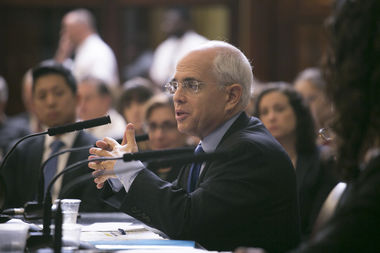 First Deputy Mayor Anthony Shorris was grilled for two and a half hours at a City Council hearing on Rivington House.