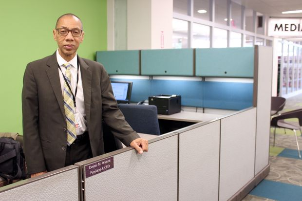 """""""We want to determine how Queens Library defines its mission and vision,"""" said Queens Library President and CEO Dennis Walcott asking patrons to participate in the survey."""