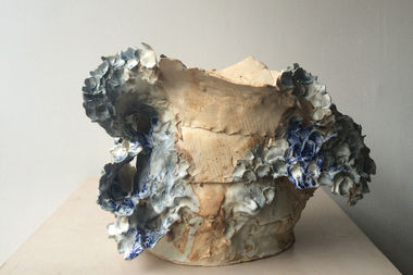 Hyde Park potter Jennefer Rossi is showing her new work at Cornell Florist over the weekend.