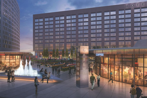 The $300 million Illinois Medical District Gateway project will bring hotels, young professional housing, retail and office space to the vacant site at Damen and Harrison on the Near West Side.