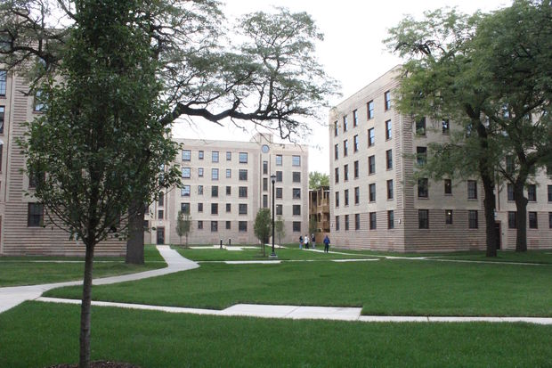 The Rosenwald Court Apartments has undergone a $132 million renovation.
