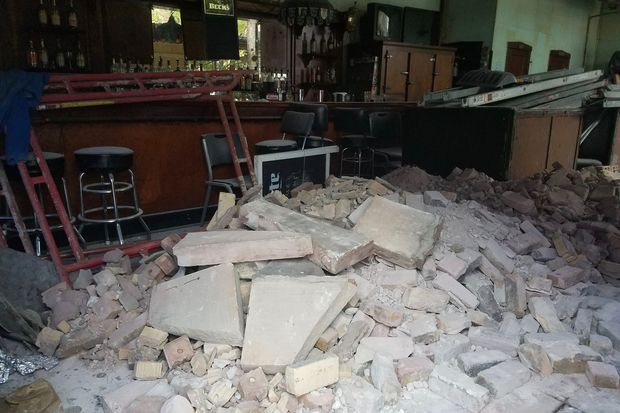 Beachwood Inn is getting an interior demolition as part of a remodeling that will turn it into Mae Bell Tavern  Grocery.