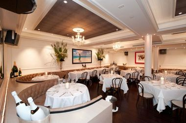 Bagatelle, at 1 Little W. 12th St. in the Meatpacking District.