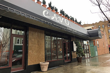 Longtime nightclub and former Greek restaurant Cavo closed its doors this week after nearly two decades in the neighborhood, according to its owners.