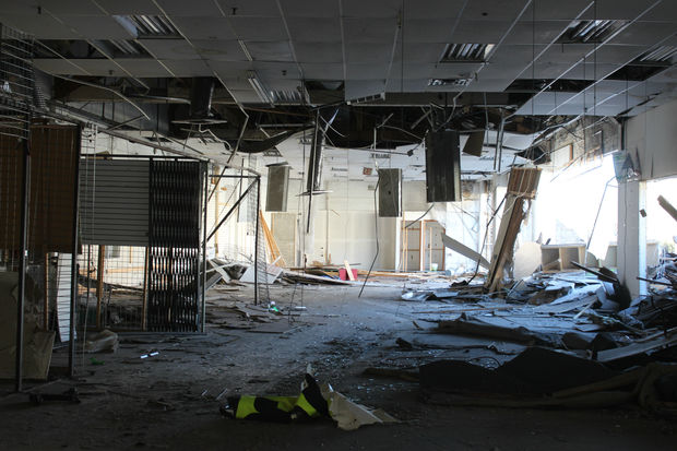A final look inside Logan Square's Megamall before it's all razed.