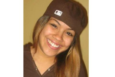Brooke Garcia, 27, was found dead with a scarf wrapped around her neck on Wednesday afternoon.