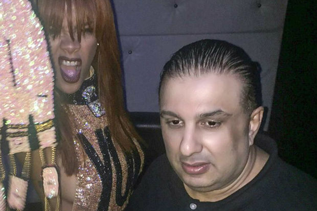 Savyon Zabar, seen here beside Rihanna, was found dead in his West 81st Street apartment, police said.