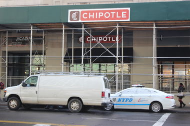 The first Chipotle in the South Bronx is now set to open on March 6.