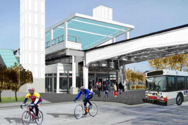 Walsh Construction has been chosen to lead the construction of a new station for the Garfield Boulevard Green Line stop.