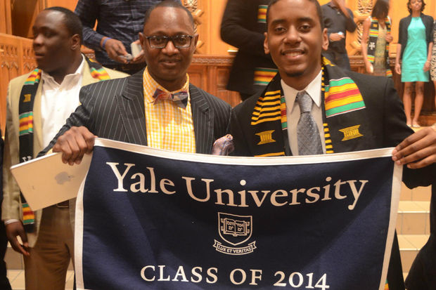 Rodney Walker survived 12 foster homes on his way to graduating from Morehouse and Yale.