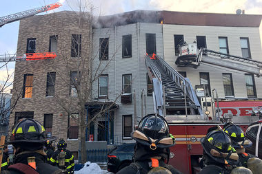 30 People Displaced After Large Fire at Bushwick Apartments: Officials
