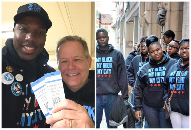 Ald. James Cappleman (46th) and other Chicagoans are donating their tickets to President Obama's farewell speech to North Lawndale teens through My Block, My Hood, My City.