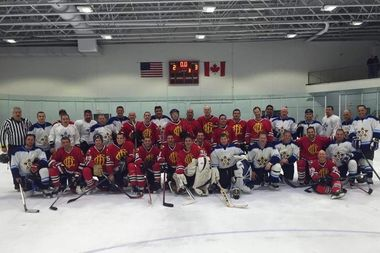 Ice Hockey teams comprised of members of the Chicago police and fire departments will face off at 6:50 p.m. Jan. 22 at the Morgan Park Sports Center. The charity game raises money for military veterans who have recently returned home.
