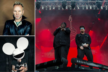 Sting, Deadmau5 and Run The Jewels will all perform at the Aragon Ballroom, 1106 W. Lawrence Ave.