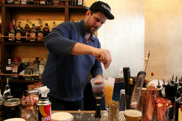 The bar opened Thursday at 507 Myrtle Avenue.